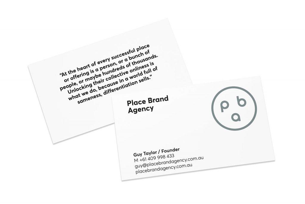 Place Brand Agency